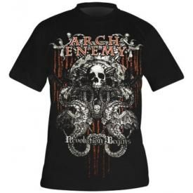 T-Shirt Mec ARCH ENEMY - Revolution Begins