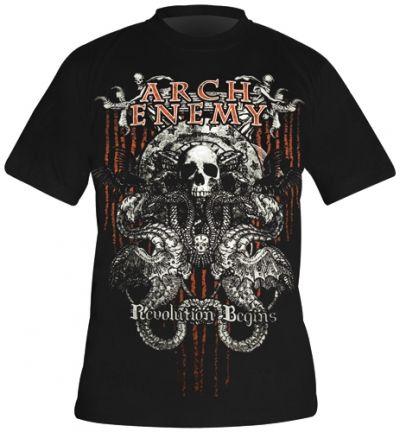 Image de T-Shirt Mec ARCH ENEMY - Revolution Begins