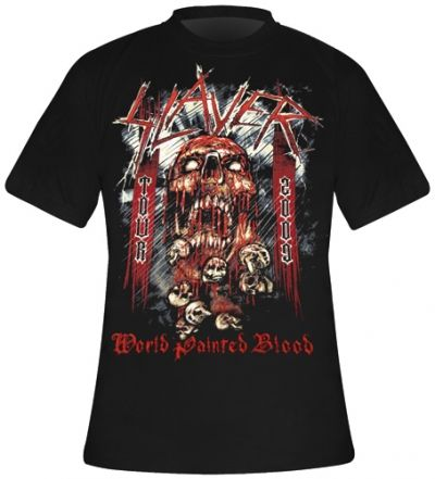 Image de T-Shirt SLAYER - Painted Blood