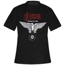 T-Shirt SAXON - Wheels Of Steel