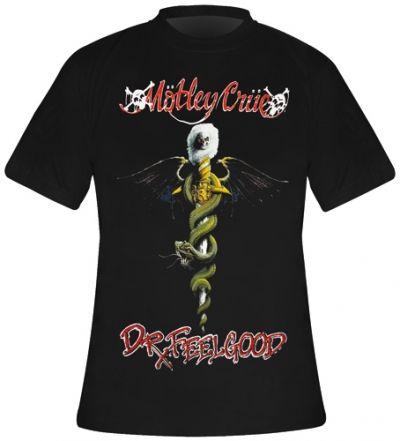 Image de T-Shirt Mec MOTLEY CRUE - Dr Feelgood