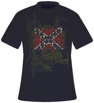 Image de T-Shirt Mec LYNYRD SKYNYRD - Swamp Music