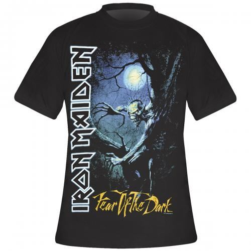 t shirt homme iron maiden fear of the dark rock a gogo. Black Bedroom Furniture Sets. Home Design Ideas