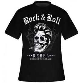 T-Shirt Mec TATTOO WEAR - Rock N Roll Beyond The Grave