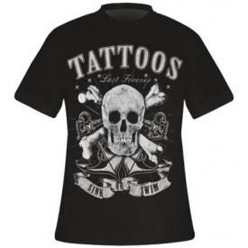 T-Shirt Mec TATTOO WEAR - Sink Or Swim