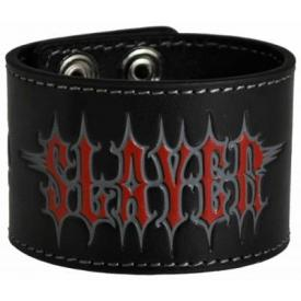Bracelet Cuir SLAYER - Pentagram
