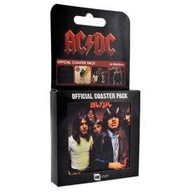 Lot de 4 Sous Bocks AC/DC - Albums Coasters
