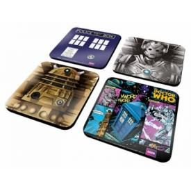Lot de 4 Sous Bocks DOCTOR WHO - Universe