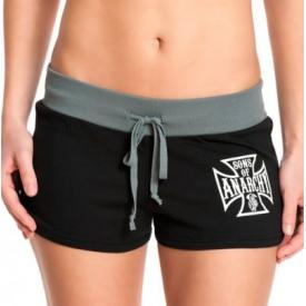 Short Femme SONS OF ANARCHY - Iron Cross Hot Pants