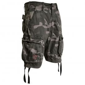 Short Cargo SURPLUS - Airborne Vintage Dark Camo