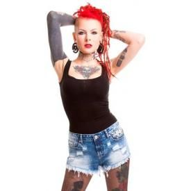 Mini Short Femme VIXXSIN - Razer Denim