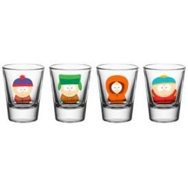 Set de 4 Verres SOUTH PARK - Shoot Glasses