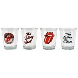 Set de 4 Verres ROLLING STONES - Shooters Glasses