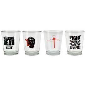 Set de 4 Verres THE WALKING DEAD - Shoot Glasses