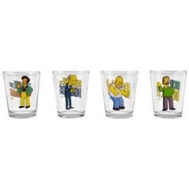 Set de 4 Verres SIMPSONS - Shooters