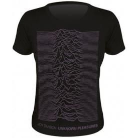 Tee Shirt Femme JOY DIVISION - Unknown Pleasure Oversized