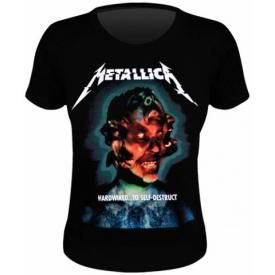 Tee Shirt Femme METALLICA - Hardwired To Self Destruct