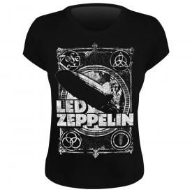 Tee Shirt Femme LED ZEPPELIN - Shook Me