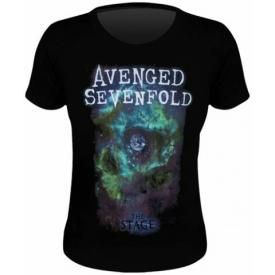 Tee Shirt Femme AVENGED SEVENFOLD - Space Skull