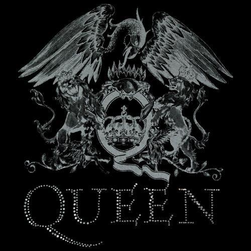 Tee Shirt Femme Queen Silver Crest Rock A Gogo