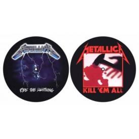 Lot de 2 Feutrines Vinyles METALLICA - Kill / Ride