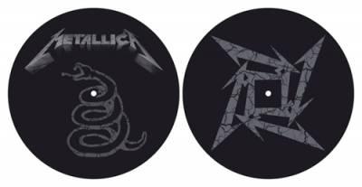 Image de Lot de 2 Feutrines Vinyles METALLICA - Ninja / Snake