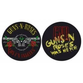 Lot de 2 Feutrines Vinyles GUNS N' ROSES - Los F'N Angeles