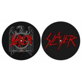 Lot de 2 Feutrines Vinyles SLAYER - Eagle