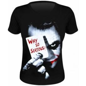 Tee Shirt Femme BATMAN - Why So Serious ?