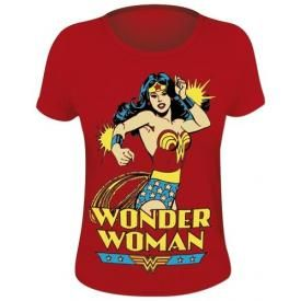 Tee Shirt Femme WONDER WOMAN - Power