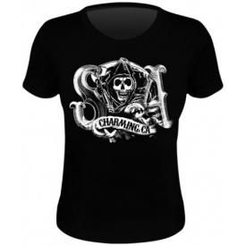 Tee Shirt Femme SONS OF ANARCHY - Charming Reaper