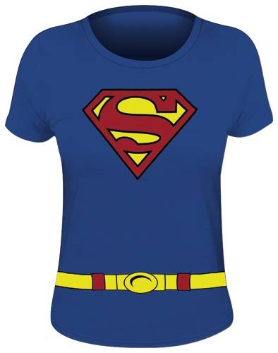 Femme Superman I7ybyf6gv Supergirl Rock Shirt Gogo A Tee Costume Nmw08n