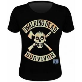 Tee Shirt Femme THE WALKING DEAD - Survivor
