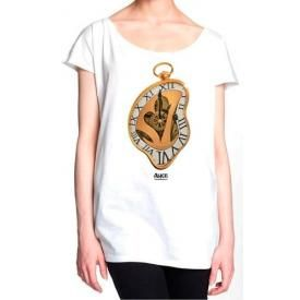 Tee Shirt Femme ALICE IN WONDERLAND - Melting Time