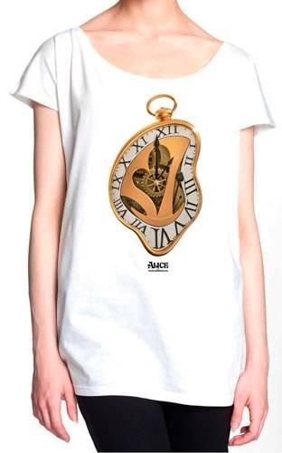 Image de Tee Shirt Femme ALICE IN WONDERLAND - Melting Time