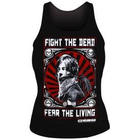 Débardeur Femme THE WALKING DEAD - Fight The Dead