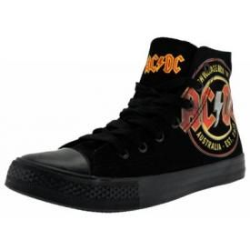 Chaussures Femme AC/DC - High Voltage Vintage Sneakers