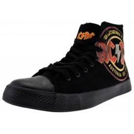 Chaussures AC/DC - High Voltage Vintage Sneakers