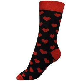 Chaussettes Médium MACAHEL - Red Hearts