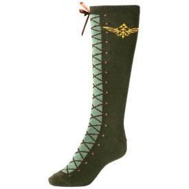 Chaussettes Longues NINTENDO - Zelda Link Costume