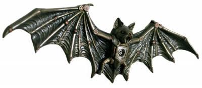 Bat Clockwork Gogo A Applique Rock Steampunk Murale H2E9eYIWD