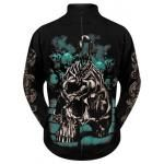 Sweat Zippé Mec DARK WEAR - Scorpion Glow