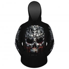 Sweat Mec Spiral DARK WEAR - Death Bones