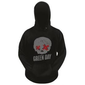 Sweat GREEN DAY - Grey Skull