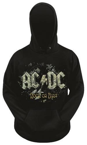 Noir Sweat /à capuche original AC//DC Rock or Bust produit officiel