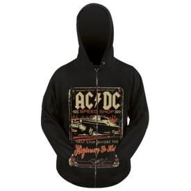 Sweat Zippé AC/DC - Speed Shop