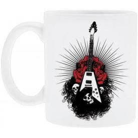 Tasse DIVERS - Guitar Flying Roses