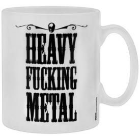 Tasse DIVERS - Heavy F*** Metal