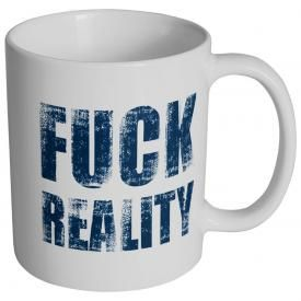 Tasse DIVERS - F*** Reality