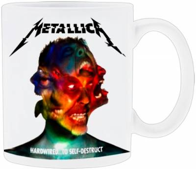 Image de Tasse METALLICA - Hardwired To Self Destruct Cover
